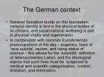 the german context1