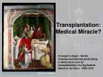transplantation medical miracle