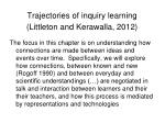 trajectories of inquiry learning littleton and kerawalla 2012