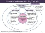 frame of reference in 24 7 study