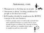 autonomy cont1