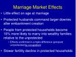 marriage market effects