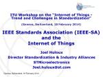 ieee standards association ieee sa and the internet of things