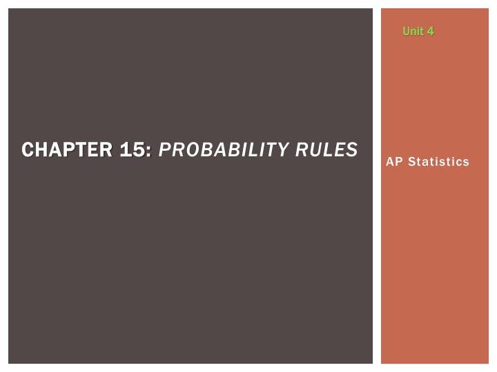 chapter 15 probability rules n.