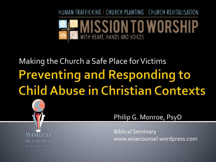 making the church a safe place for victims n.