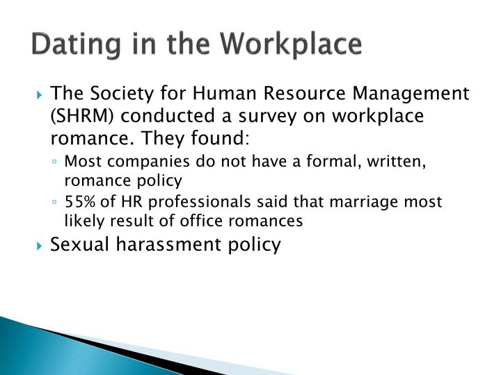 Dating in the Workplace