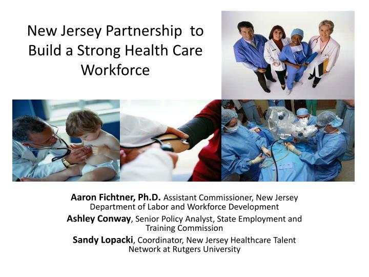 new jersey s health care cluster n.