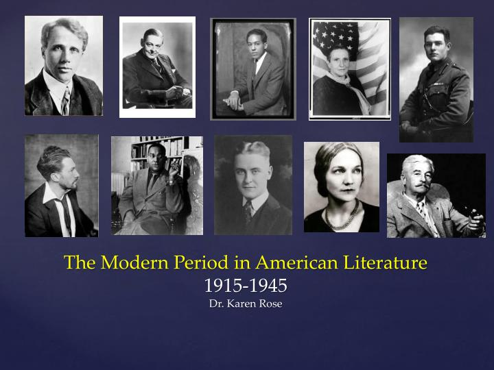 the changes in american literature during the modern age The rise of industrial america  most admired american of the age because he seemed to were coming to dominate the american economy during the great.