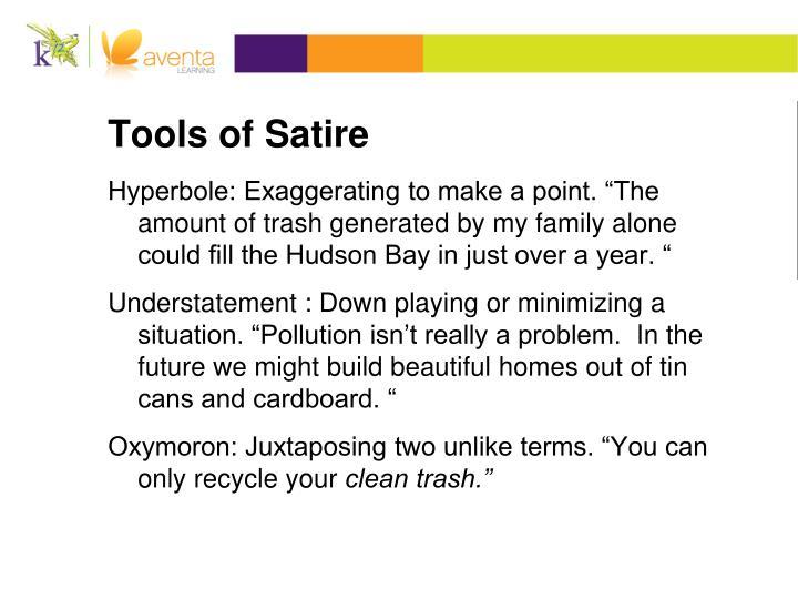 Tools of Satire