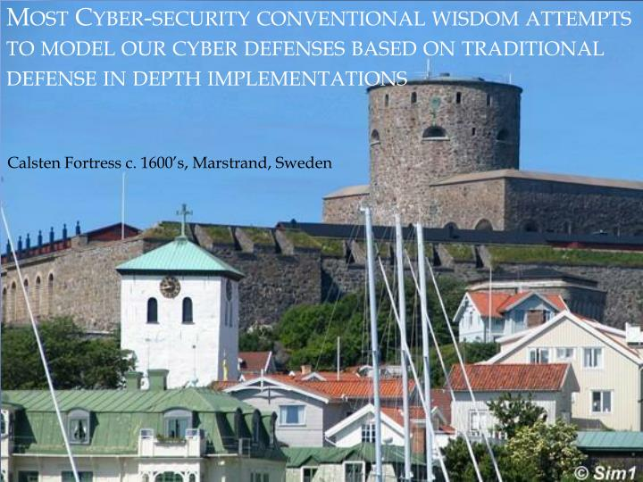 Most Cyber-security