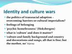 identity and culture wars