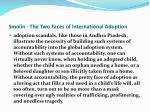 smolin the two faces of international adoption