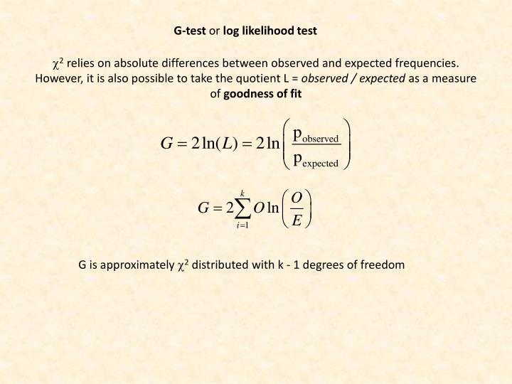 G-test
