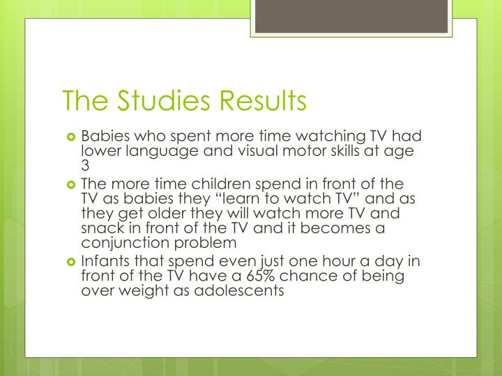 The Studies Results