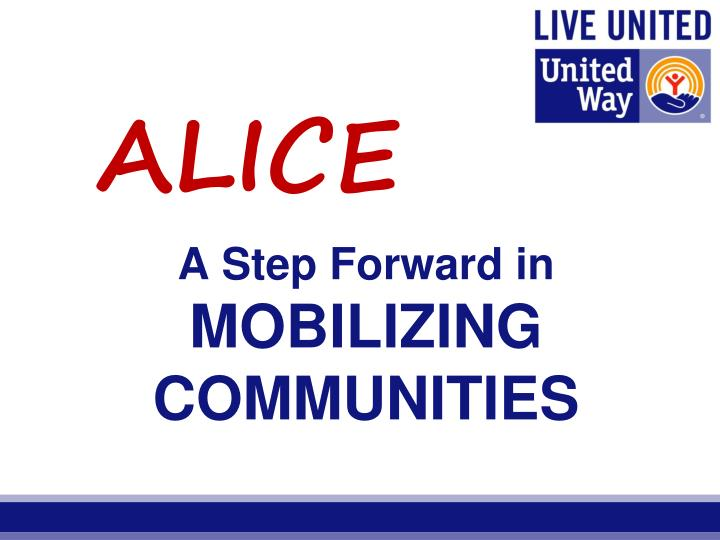 a step forward in mobilizing communities n.