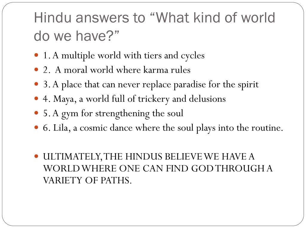 PPT - Basics of Hinduism PowerPoint Presentation - ID:1592926