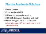 florida academic scholars