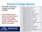 florida college system