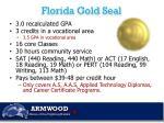florida gold seal