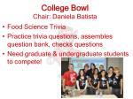 college bowl chair daniela batista