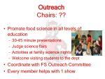 outreach chairs