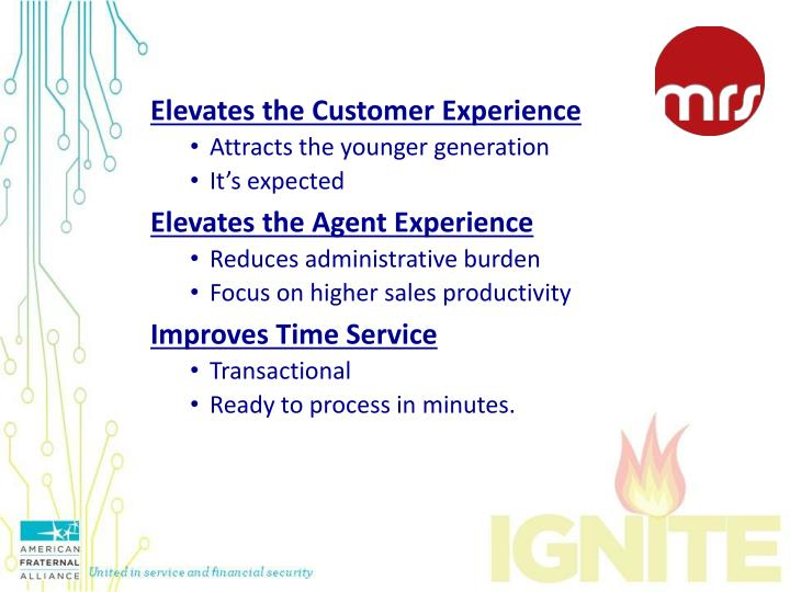 Elevates the Customer Experience