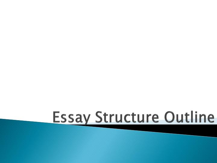 essay structure outline n.