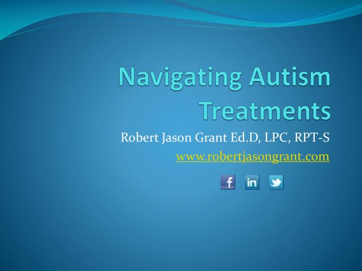 navigating autism treatments n.