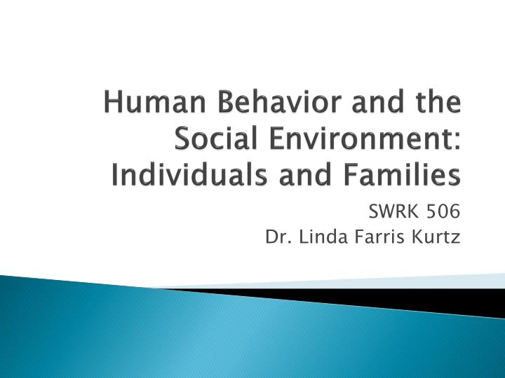 human behavior and the social environment individuals and families n.