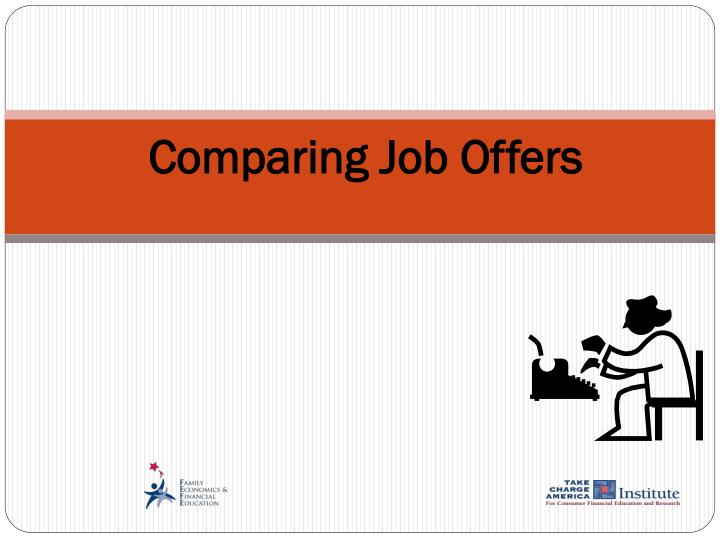 comparing job offers n.