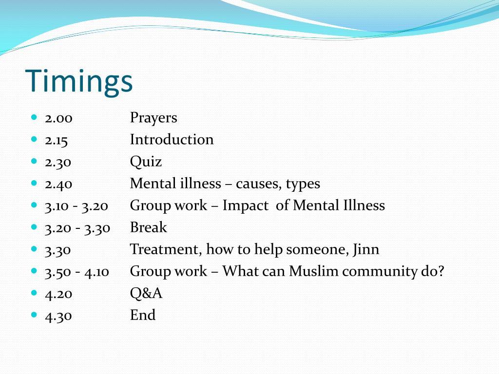 PPT - Mental illness PowerPoint Presentation - ID:1593267