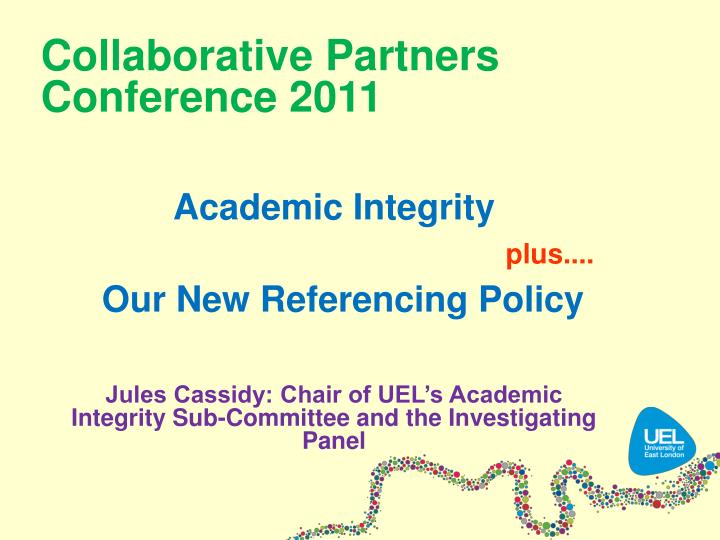collaborative partners conference 2011 n.