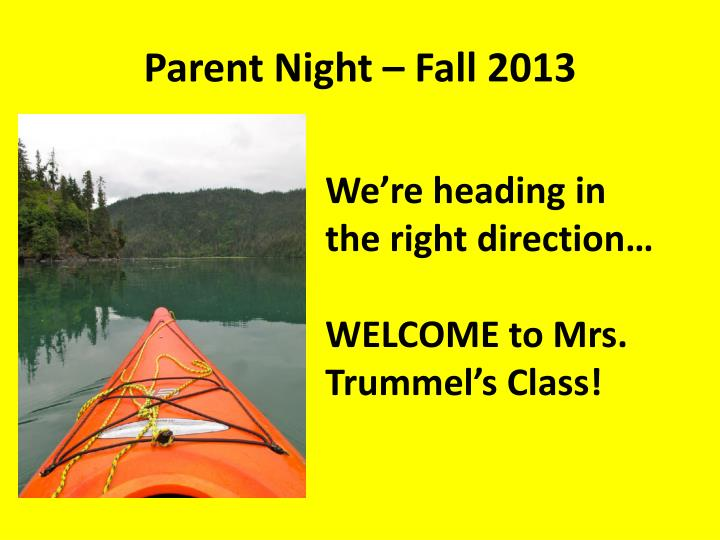parent night fall 2013 n.