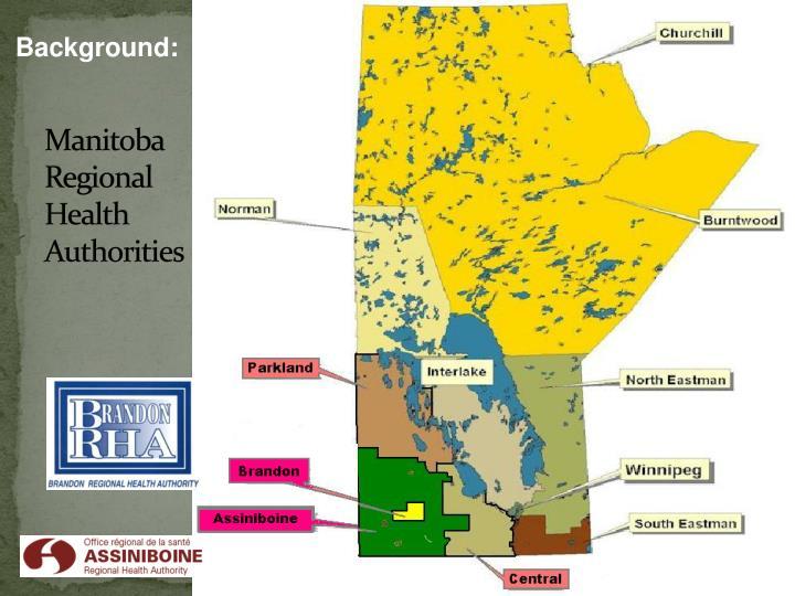Manitoba regional health authorities