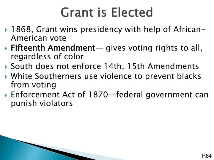 Grant is Elected
