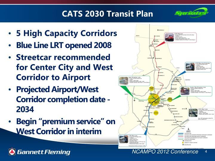 CATS 2030 Transit Plan