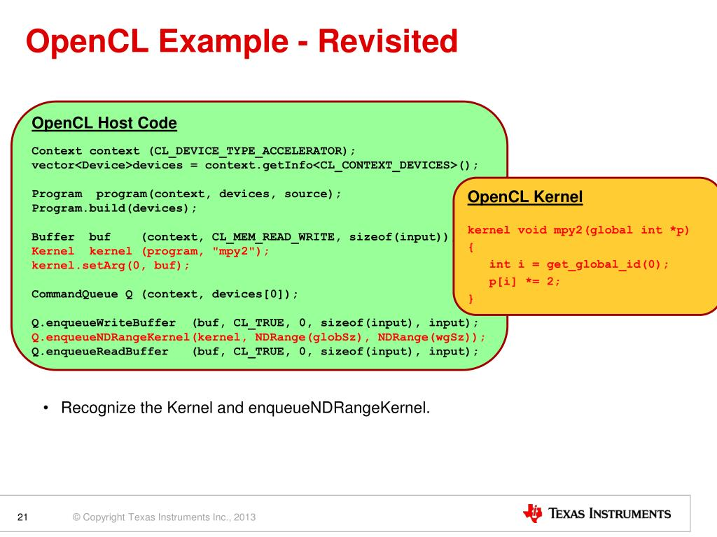 PPT - OpenCL™ PowerPoint Presentation - ID:1594108