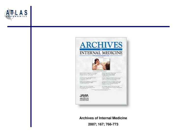 Archives of Internal Medicine