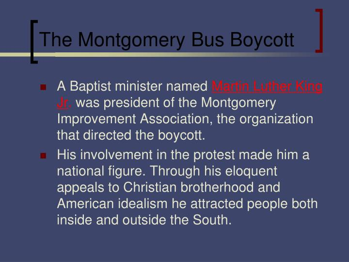 the modest proposals in the montgomery bus boycott ad by the montgomery improvement association in l Kids learn about the history of the montgomery bus boycott that started in the civil rights the montgomery improvement association with.