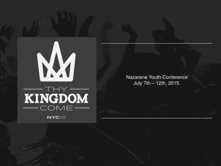 Nazarene Youth Conference