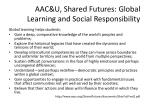 aac u shared futures global learning and social responsibility