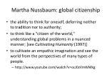 martha nussbaum global citizenship