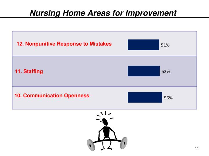 Nursing Home Areas for Improvement