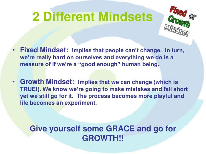 2 Different Mindsets