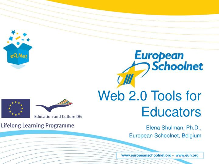 web 2 0 tools for educators n.
