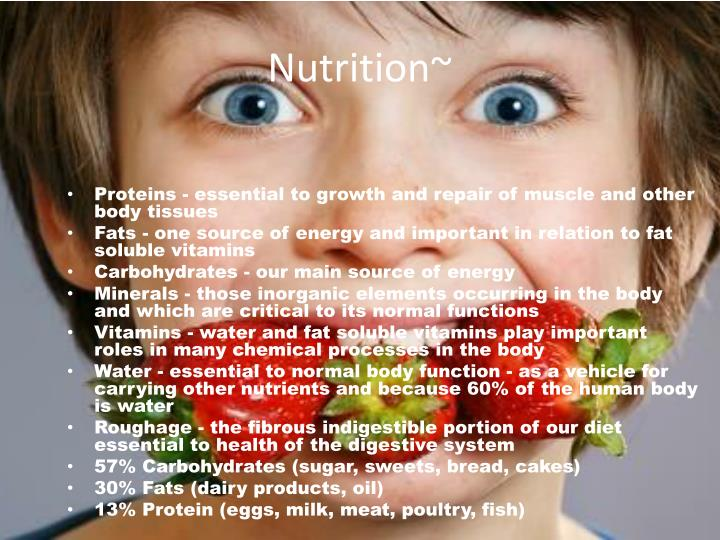 Nutrition~