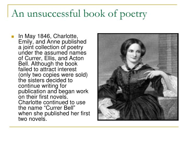 An unsuccessful book of poetry