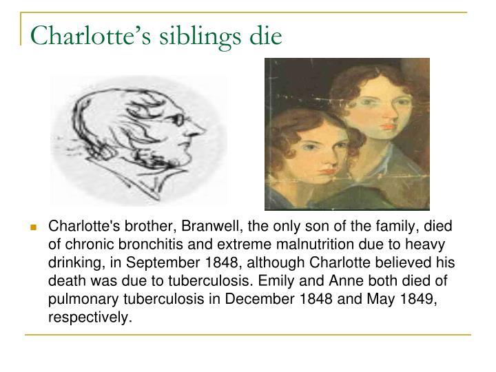 Charlotte's siblings die
