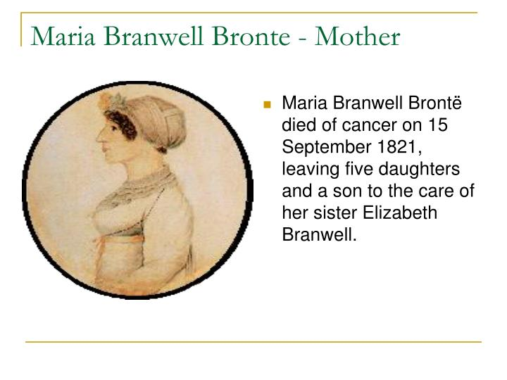 Maria branwell bronte mother