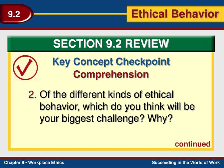 SECTION 9.2 REVIEW